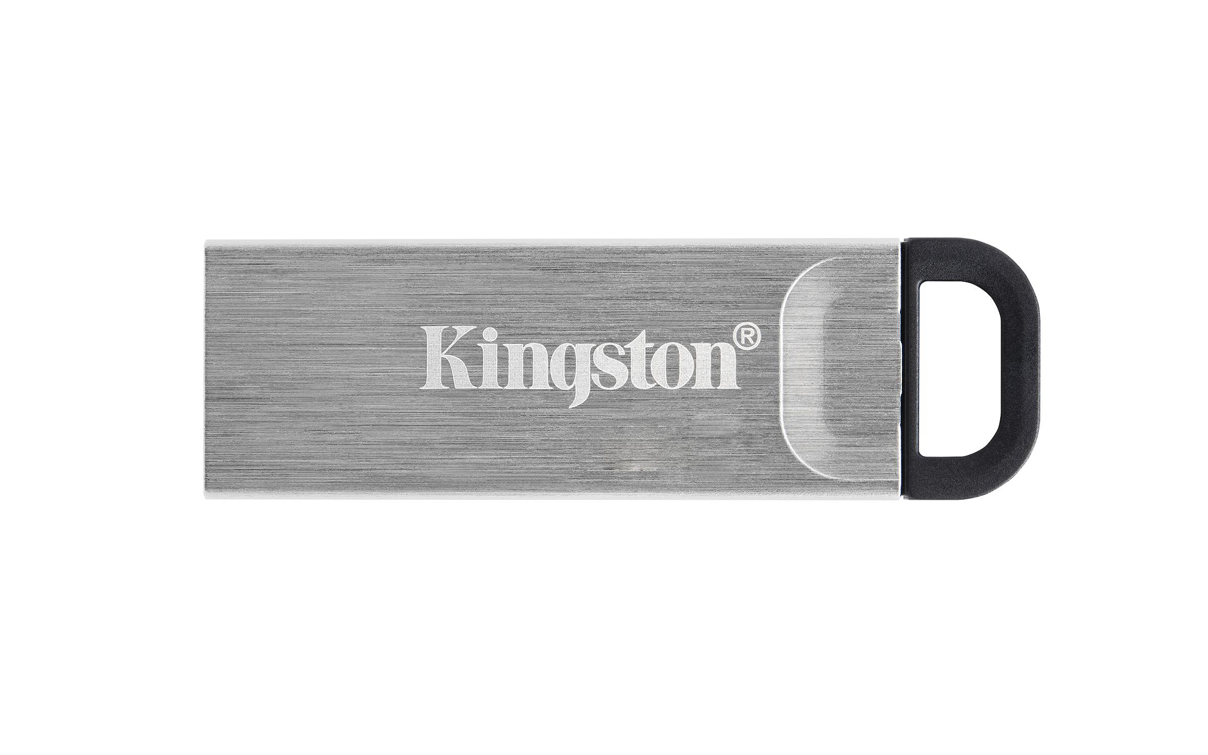 USB памет KINGSTON DataTraveler Kyson 64GB, USB 3.2 Gen 1, Сребрист