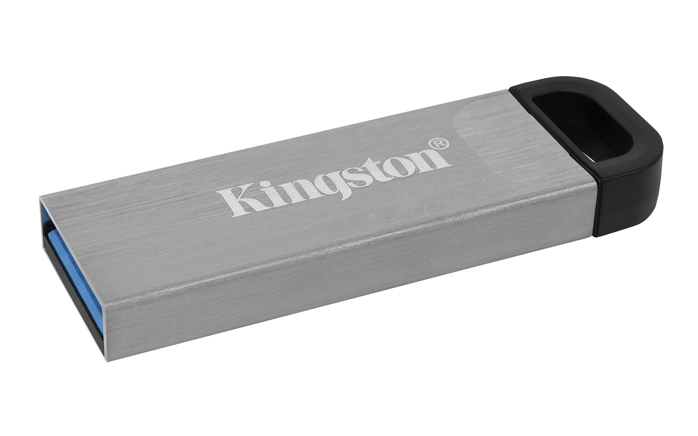 USB памет KINGSTON DataTraveler Kyson 64GB, USB 3.2 Gen 1, Сребрист-2