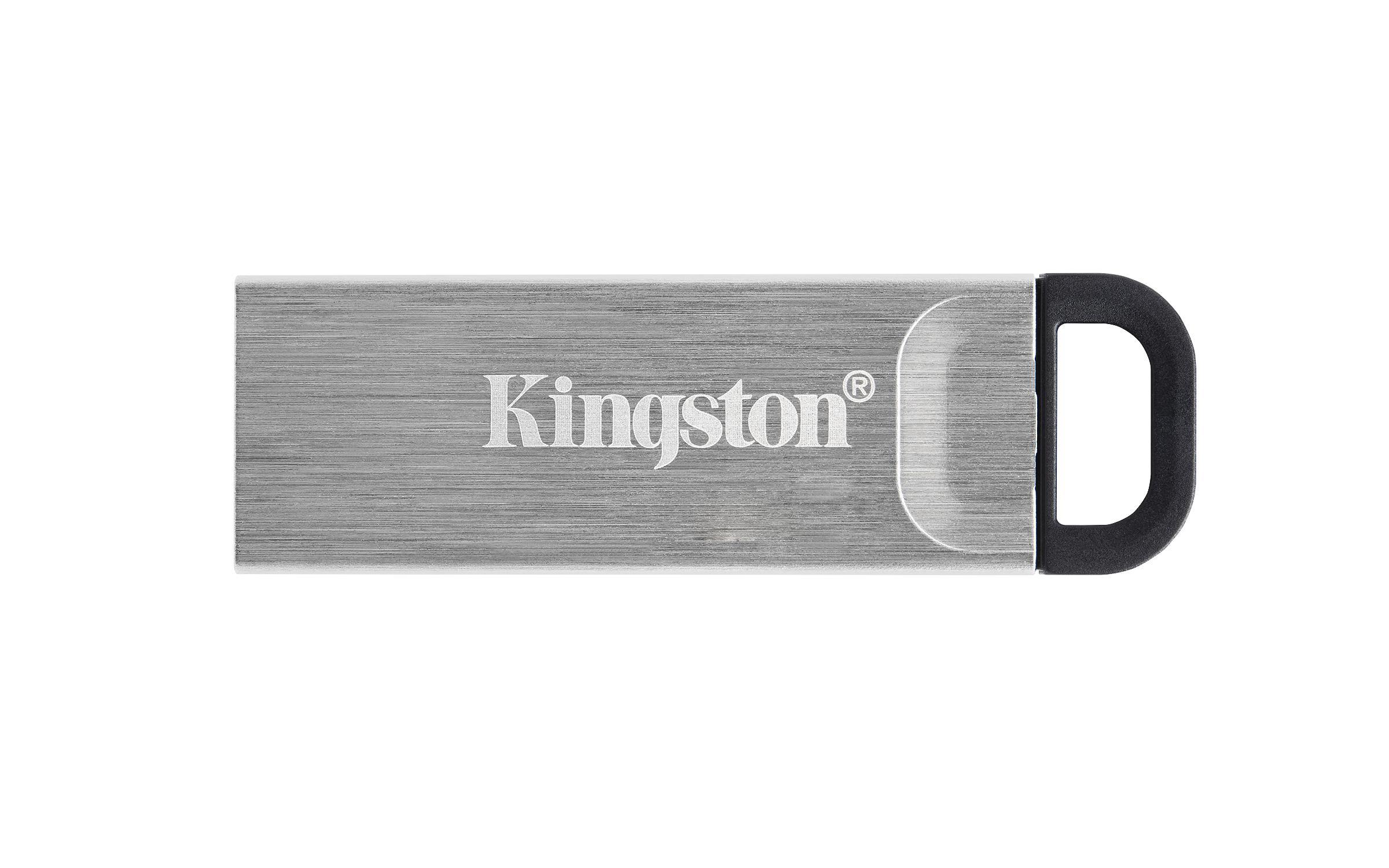 USB памет KINGSTON DataTraveler Kyson 128GB, USB 3.2 Gen 1, Сребрист