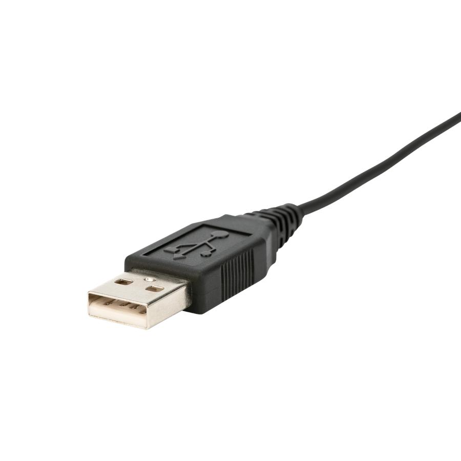 Слушалки Jabra Evolve 40, Stereo Unified Communication Optimized, Микрофон, Черни -3