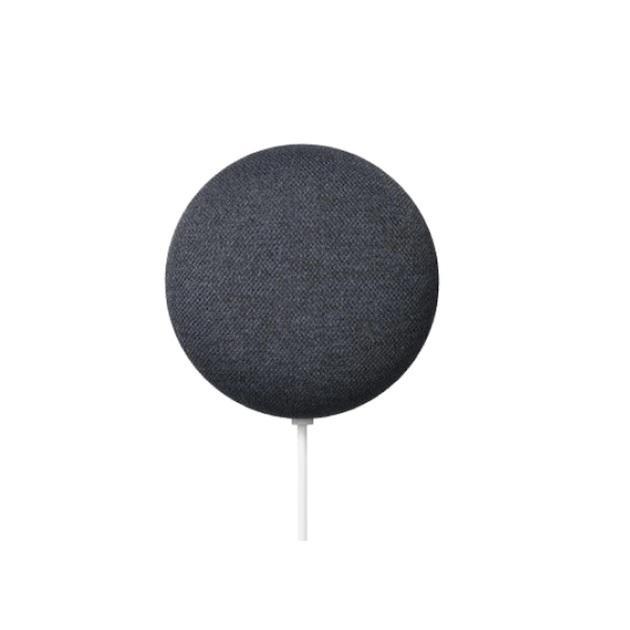 Безжична колонка Google Nest Mini, 2 поколение, Черна