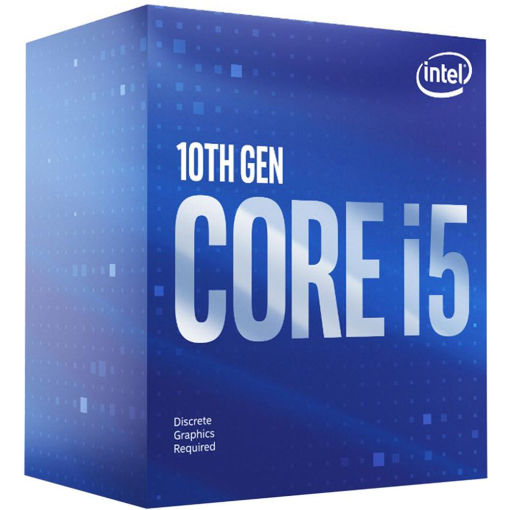 Процесор Intel Comet Lake-S Core I5-10600KF 6 cores 4.1Ghz (Up to 4.80Ghz) 12MB, 125W LGA1200, BOX