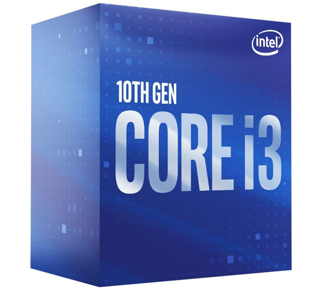 Процесор Intel Comet Lake-S Core I3-10100F 4 cores, 3.6Ghz (Up to 4.30Ghz), 6MB, 65W, LGA1200, BOX