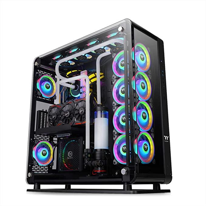 Кутия THERMALTAKE Core P8, Tempered Glass, Full-Tower, Черен