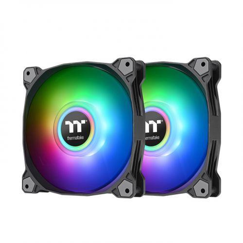Вентилатори Thermaltake Pure Duo 14 ARGB Sync Radiator 2-Fan Компелкт Черно