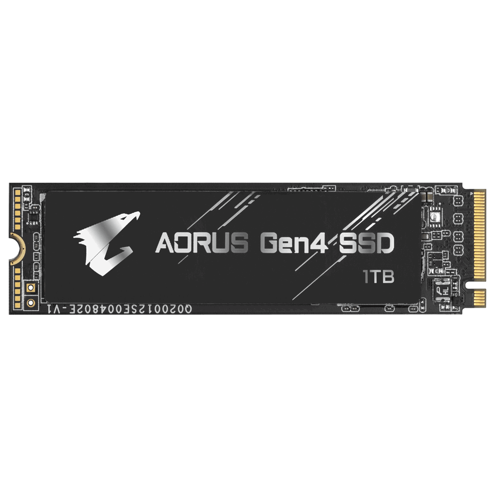 Solid State Drive (SSD) Gigabyte AORUS, 1TB, NVMe, PCIe Gen4 SSD