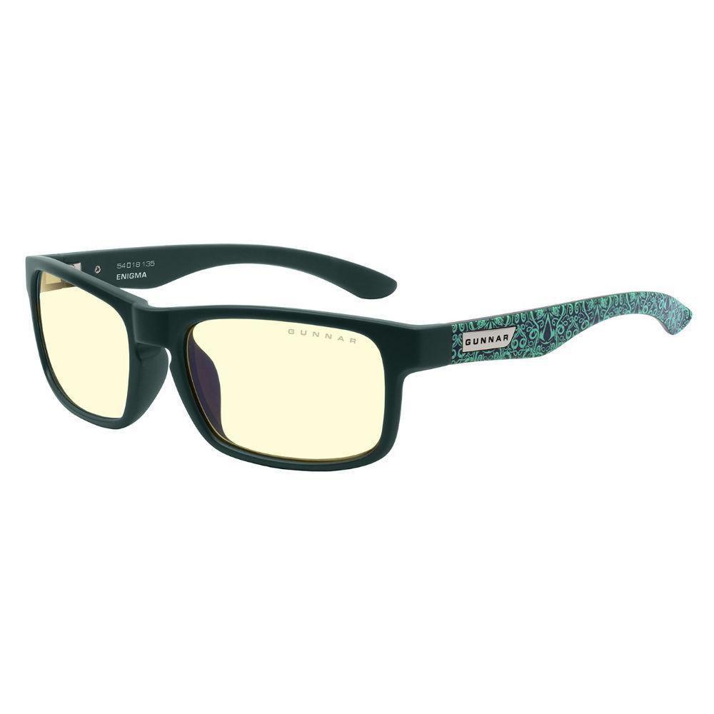 Геймърски очила GUNNAR OPTICS Enigma Teal, Amber, Assassins Creed Valhalla, Черен