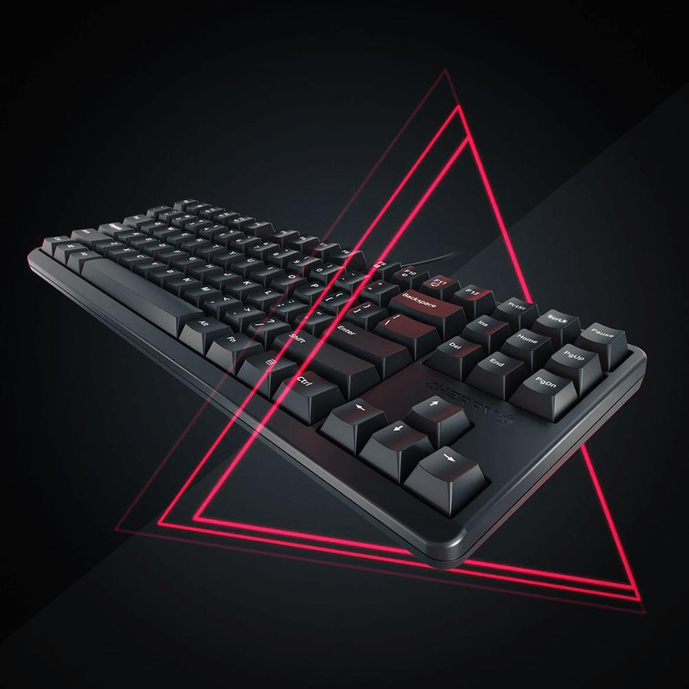Геймърскa механична клавиатура Cherry G80-3000S TKL, Cherry MX Red-3