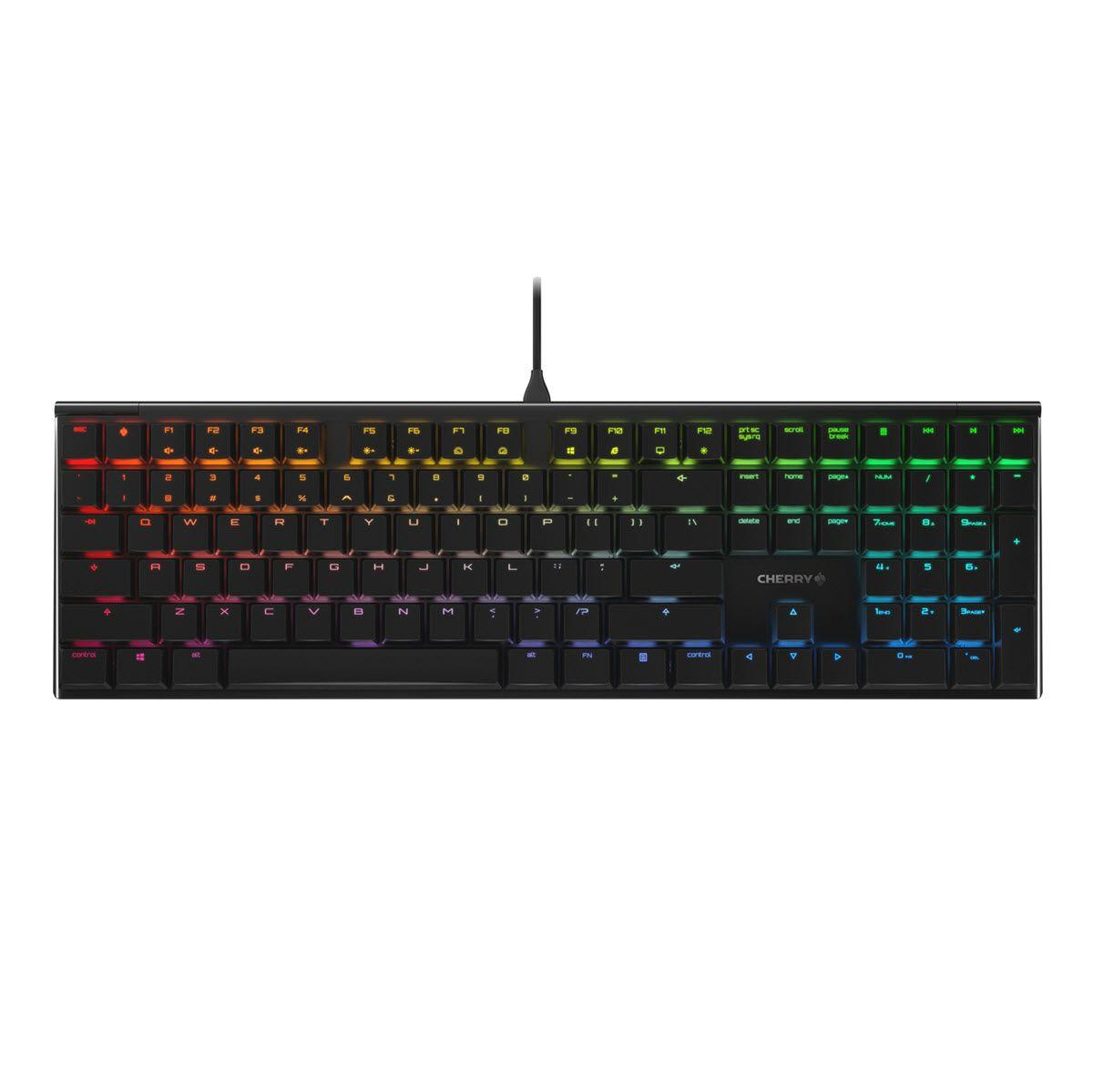 Геймърскa механична клавиатура Cherry MX Board 3.0S RGB, Cherry MX Brown