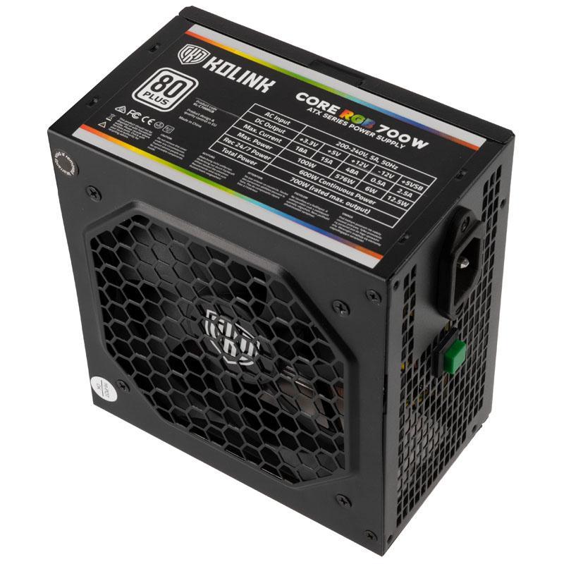 Захранващ блок Kolink Core RGB, 700W, 80 PLUS-3