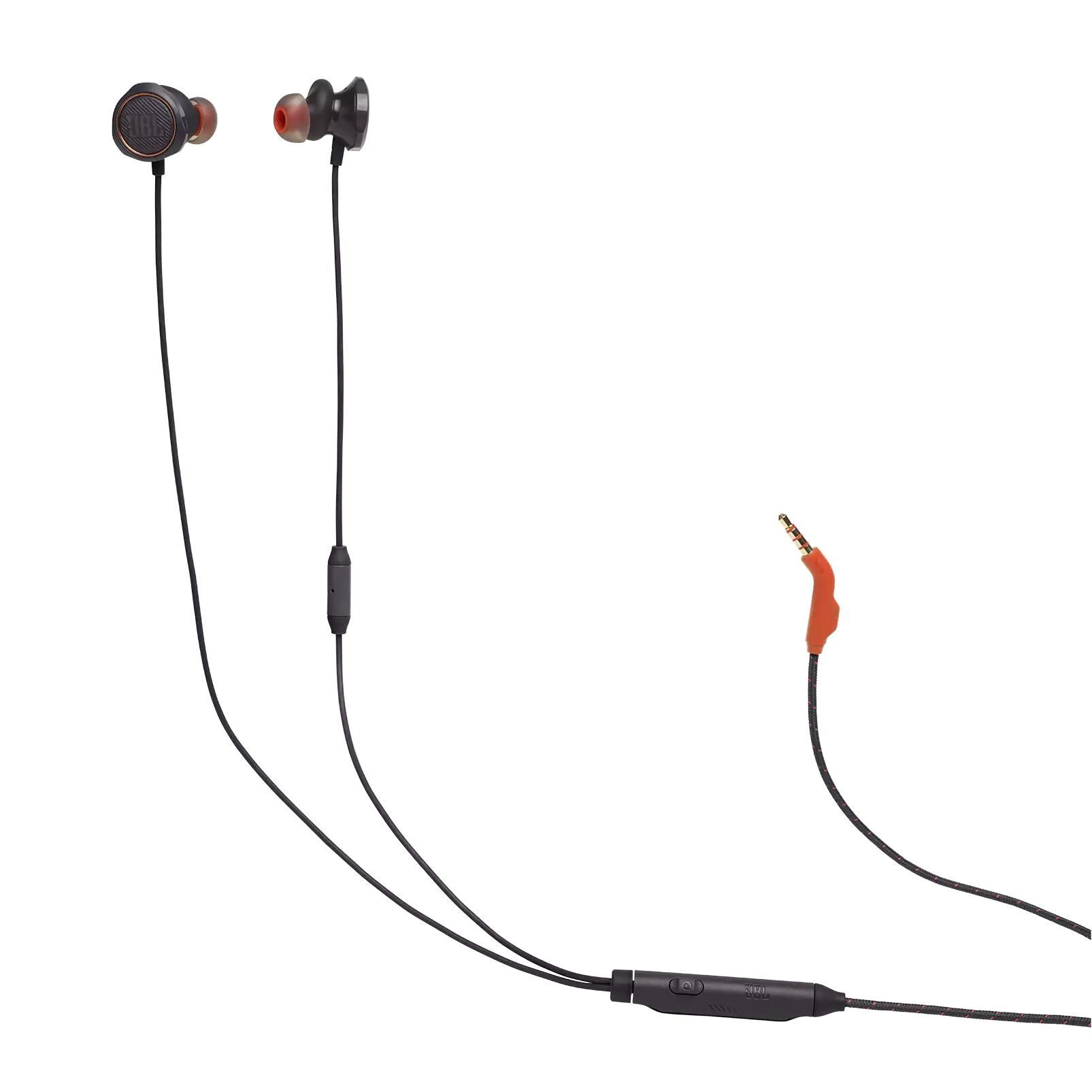 Геймърски слушалки тапи с микрофон JBL Quantum 50, Черен-4