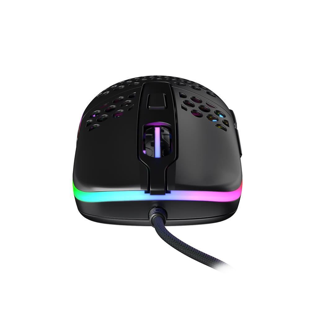 Геймърска мишка Xtrfy M42 Black, RGB, Черен-3
