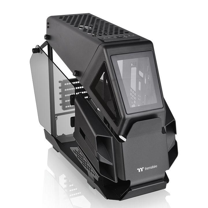 Кутия Thermaltake AH T200 TG Black mATX Mini Tower-2