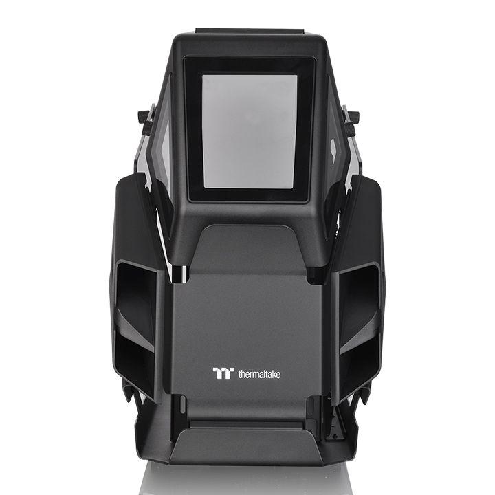 Кутия Thermaltake AH T200 TG Black mATX Mini Tower-3