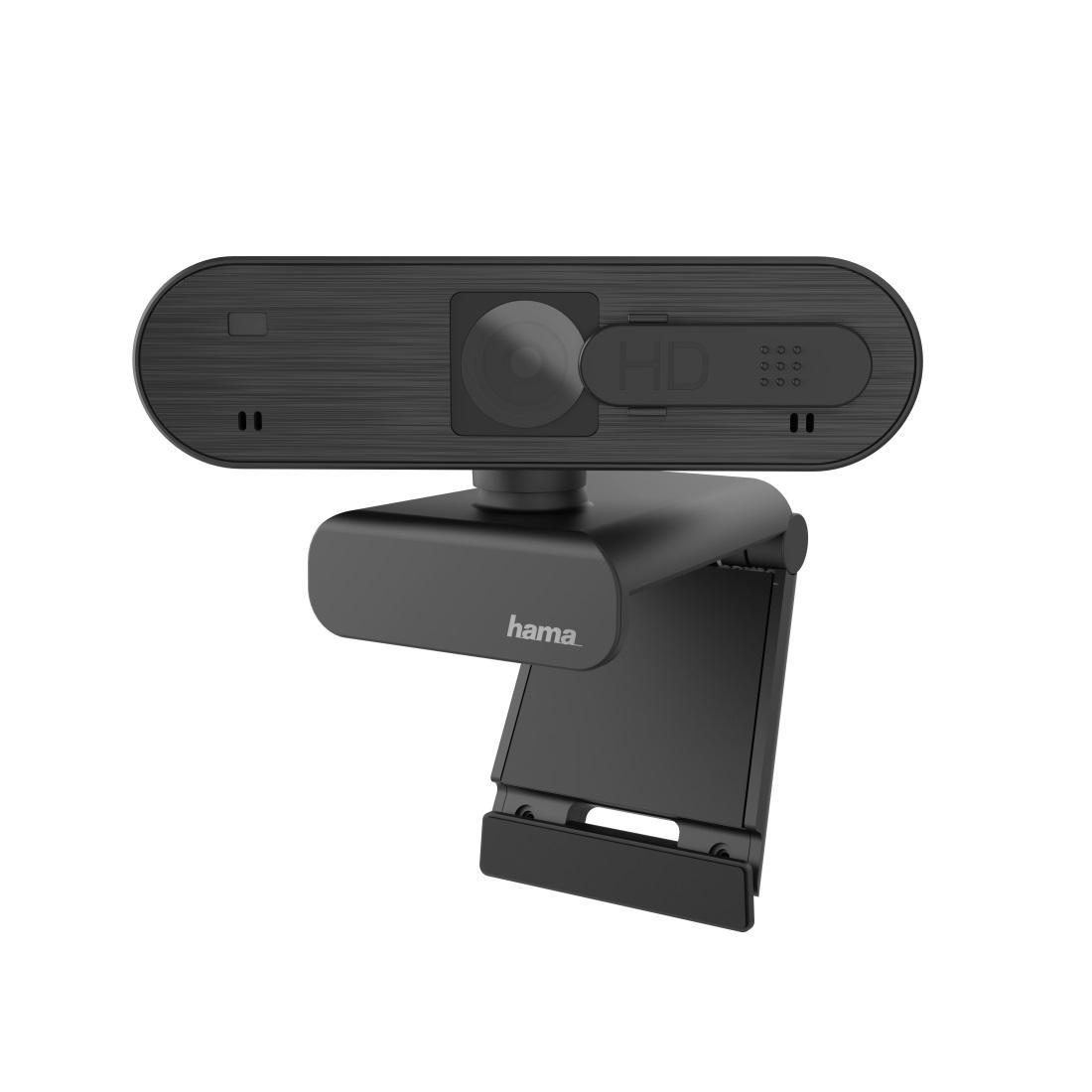 Уеб камера HAMA C-600 Pro, full-HD, стерео микрофон, Черна