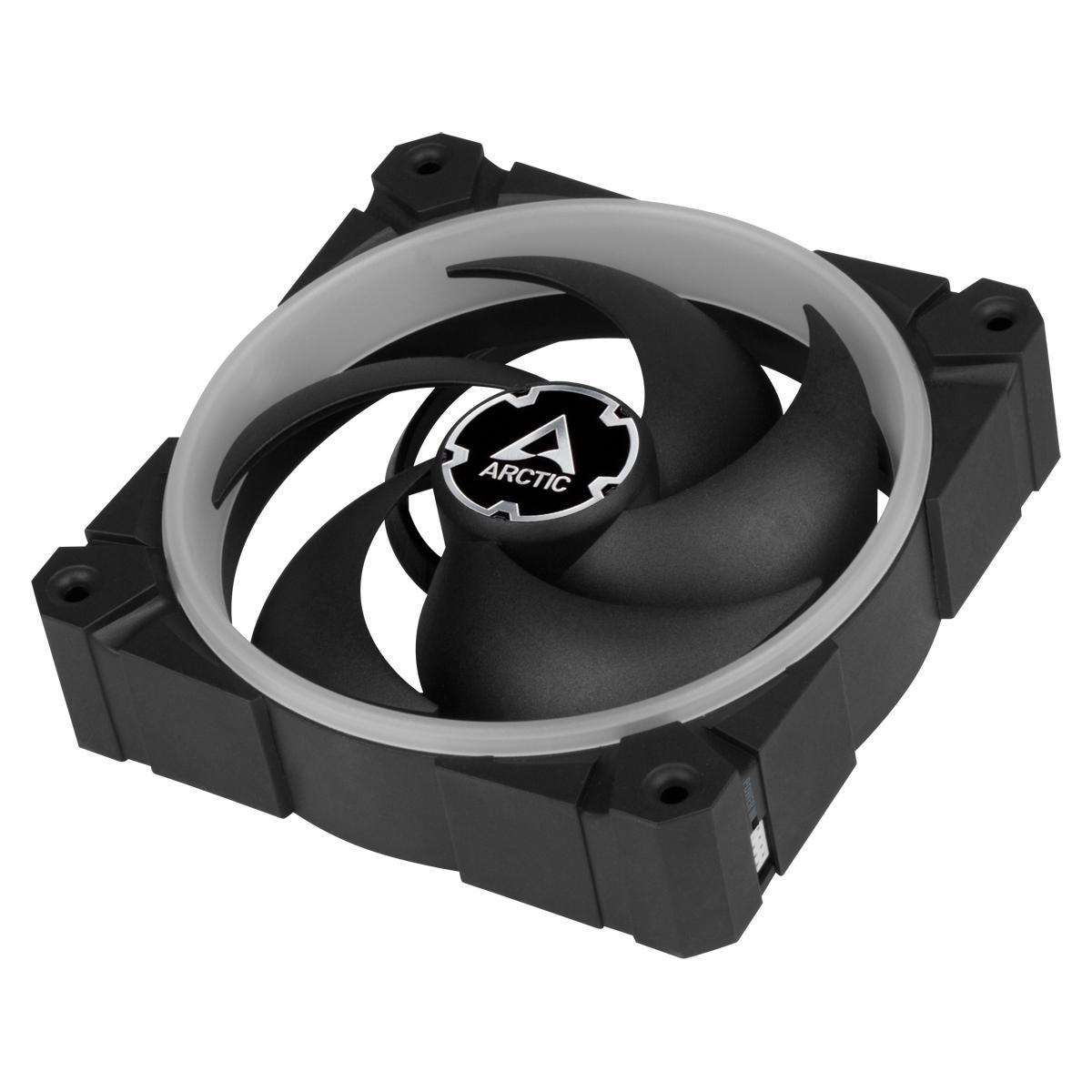 Вентилатори ARCTIC BioniX P120 A-RGB Black 120mm 3 Броя - с включен контролер-3