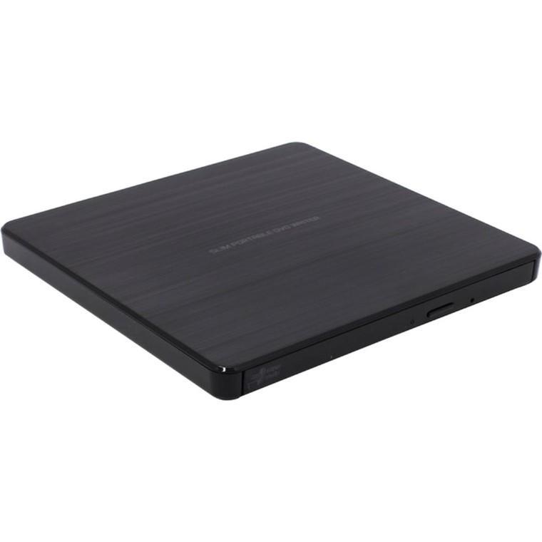 Външно DVD записващо устройство LG GP60NB60, USB 2.0, Черен