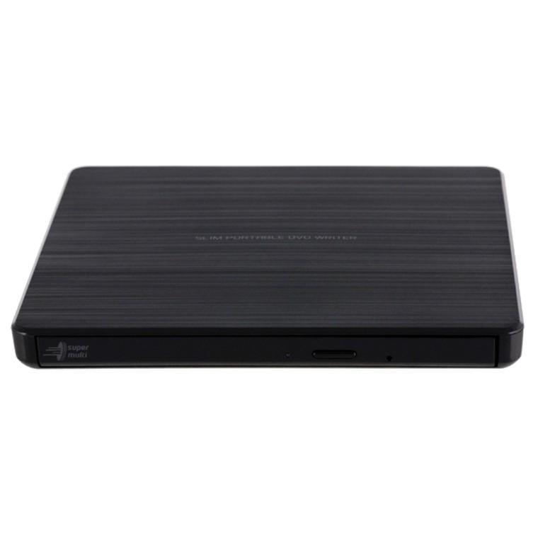 Външно DVD записващо устройство LG GP60NB60, USB 2.0, Черен-2
