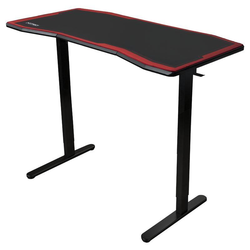 Геймърско бюро Nitro Concepts D16M, Carbon Red-3