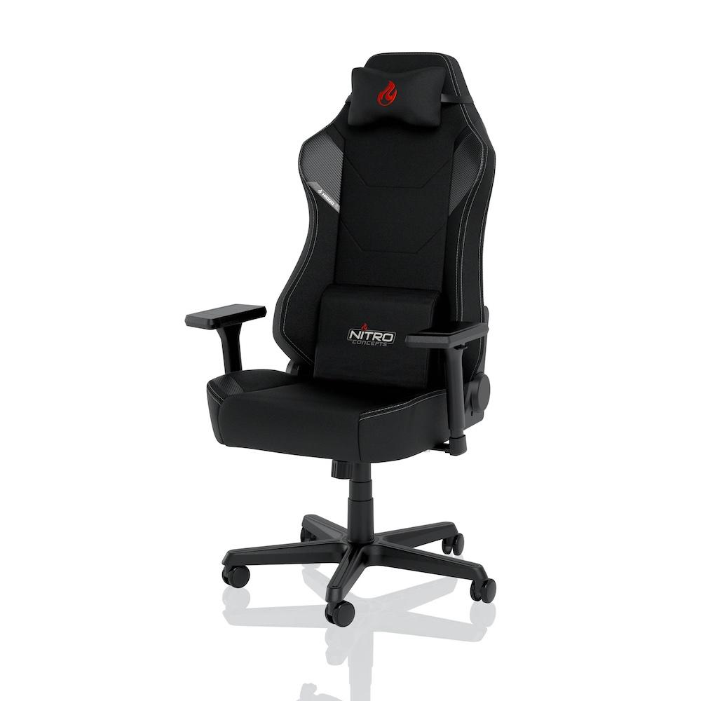 Геймърски стол Nitro Concepts X1000, Stealth Black-2
