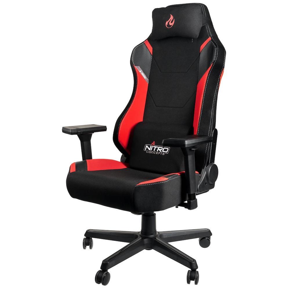 Геймърски стол Nitro Concepts X1000, Inferno Red-2