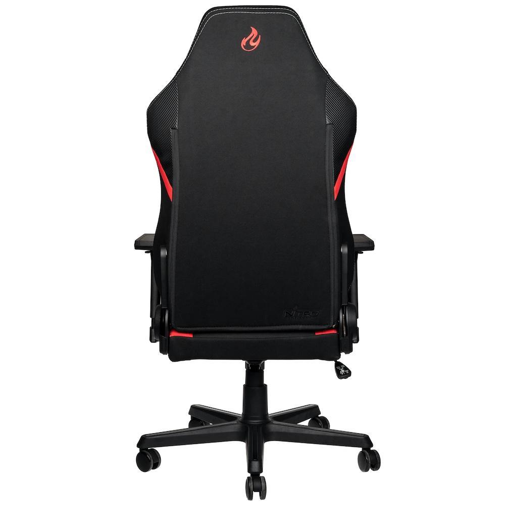 Геймърски стол Nitro Concepts X1000, Inferno Red-3