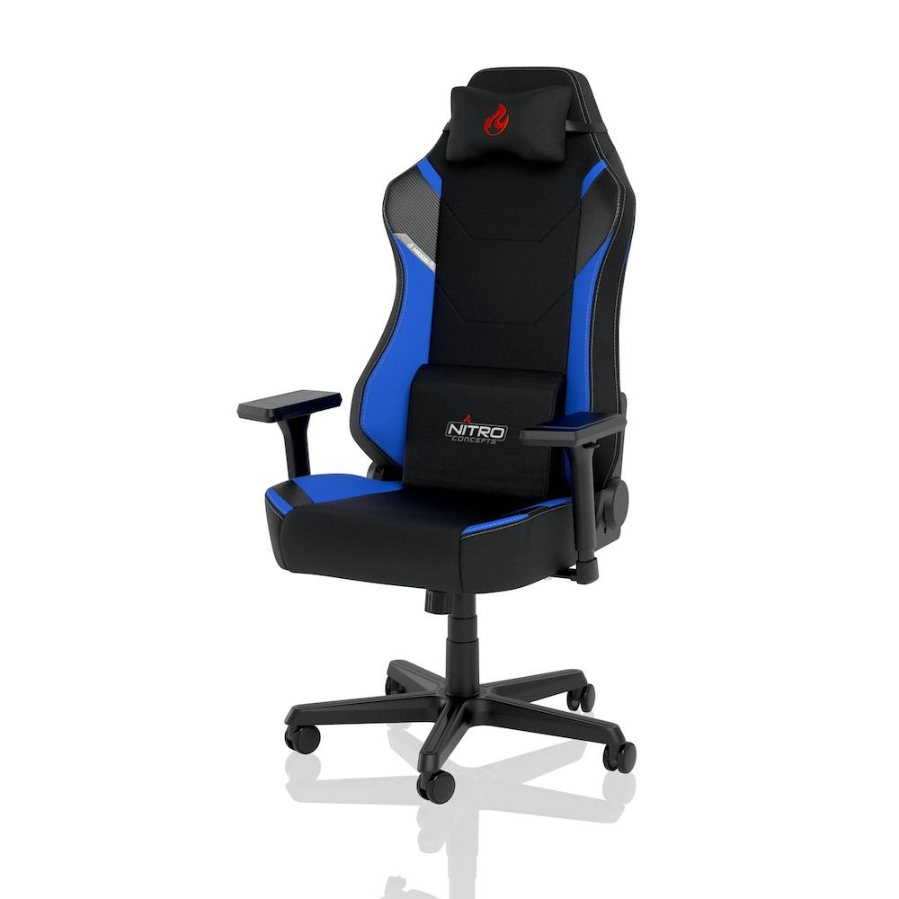 Геймърски стол Nitro Concepts X1000, Galactic Blue-2