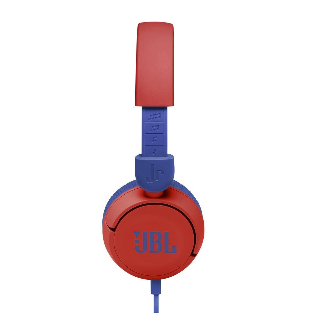 Слушалки за деца JBL JR310, Червен-3