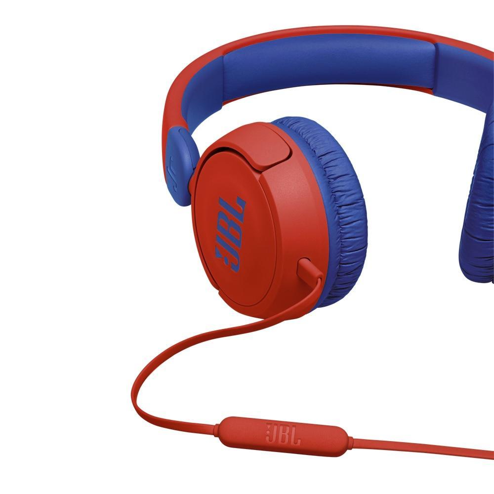 Слушалки за деца JBL JR310, Червен-4