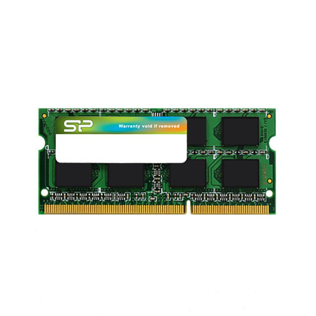 Памет Silicon Power 8GB SODIMM DDR3L PC3-12800 1600MHz CL11 SP008GLSTU160N02