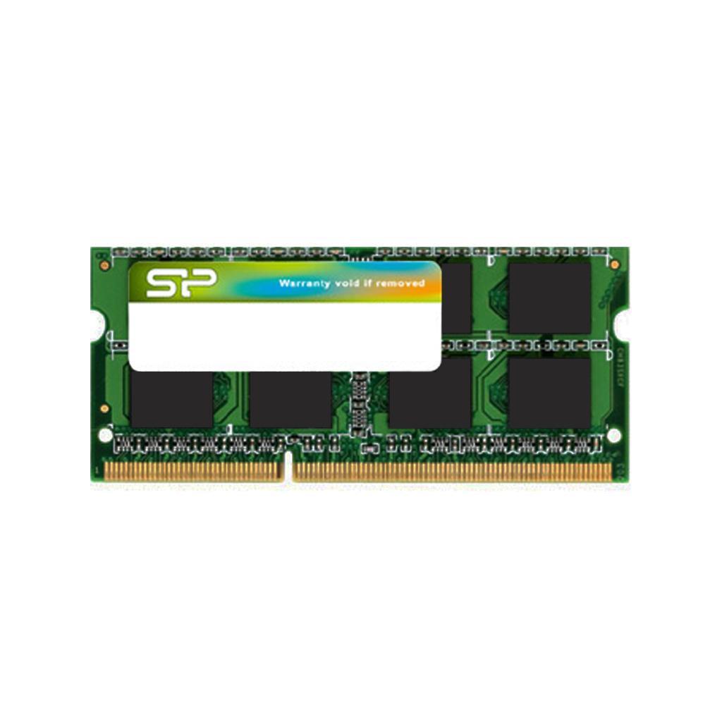 Памет Silicon Power 8GB SODIMM DDR3 PC3-12800 1600MHz CL11 SP008GBSTU160N02