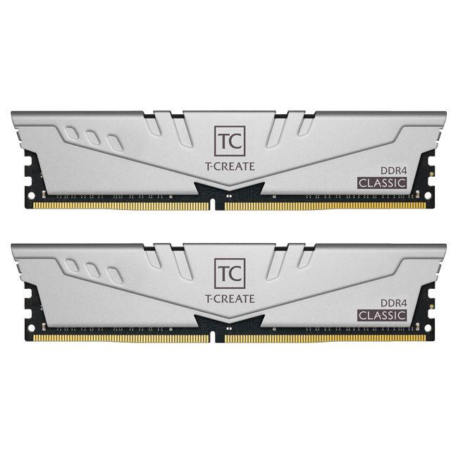 Памет Team Group T-Create Gray 16GB (2 x8GB) 2666MHz DDR4 CL19-19-19-43 1.2V