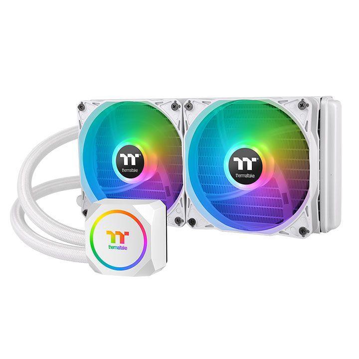 Охладител за процесор Thermaltake TH240 Snow ARGB Sync Intel/AMD