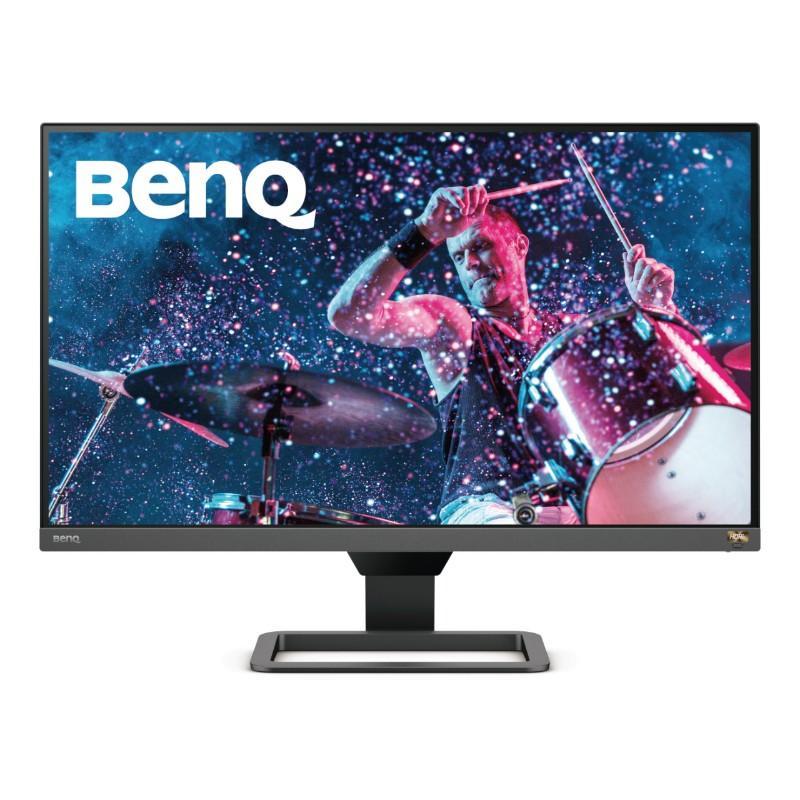 Монитор BenQ EW2780Q, IPS, 27 inch, Wide, 2K, HDR, HDMI, DisplayPort, Черен