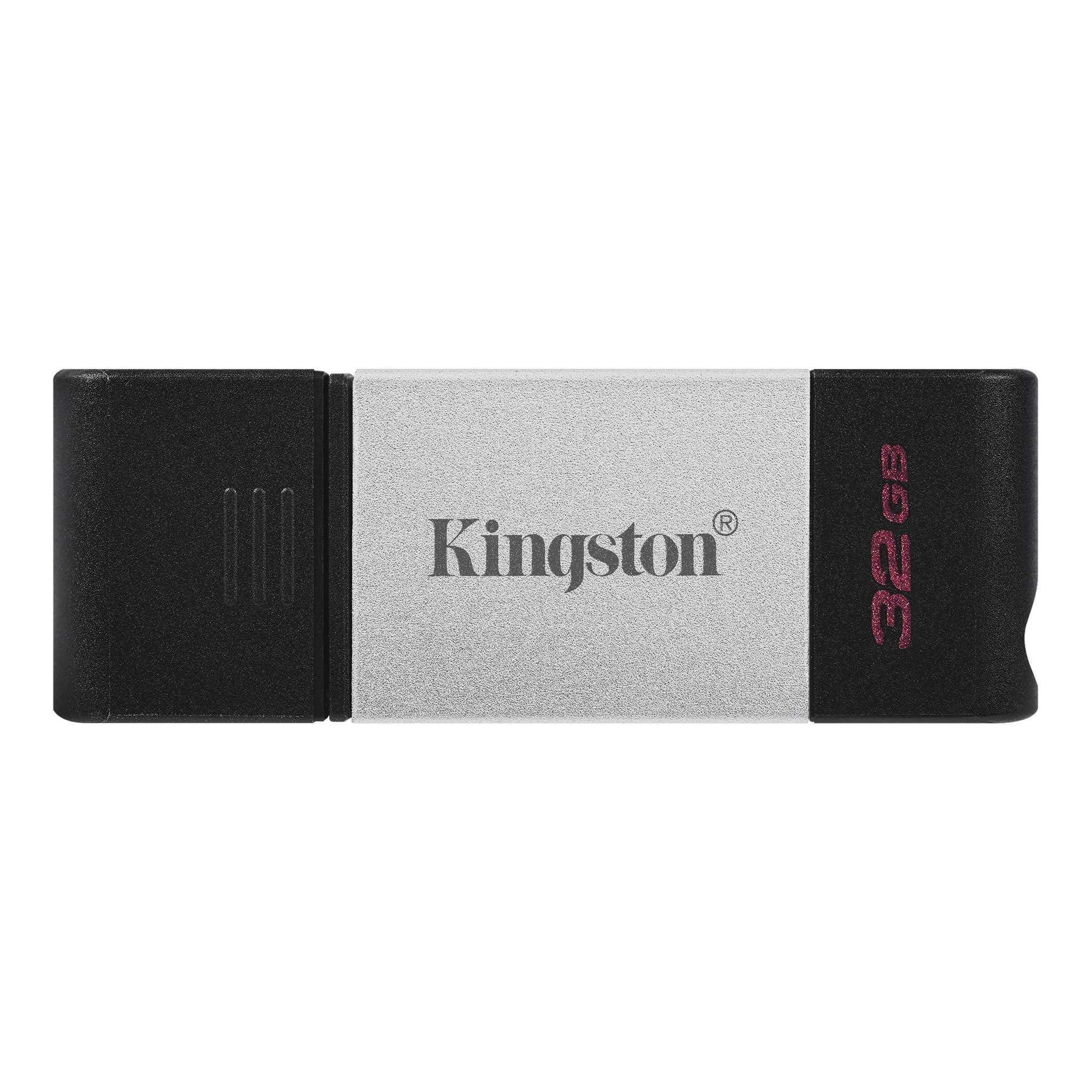 USB памет KINGSTON DataTraveler 80, 32GB, USB-C 3.2 Gen 1, Черна-2
