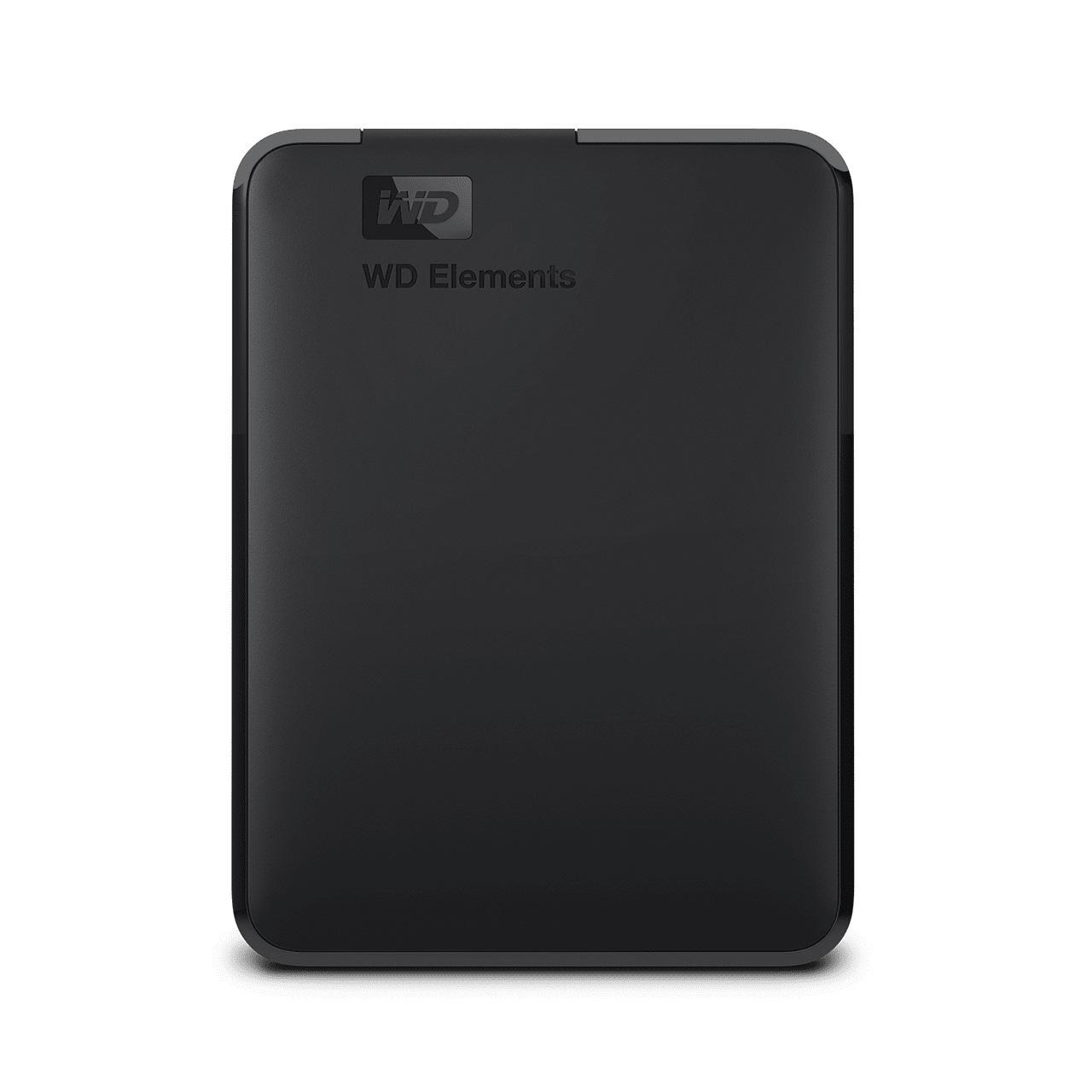 Външен хард диск Western Digital Elements Portable, 2TB, 2.5, USB 3.0, Черен