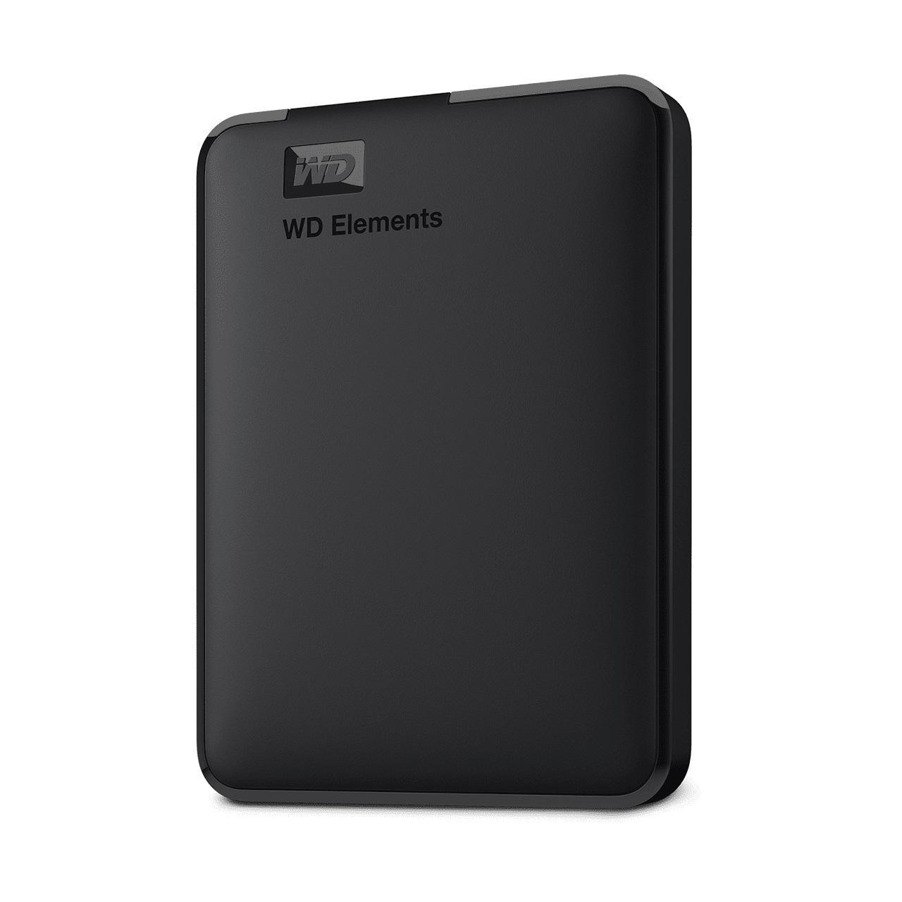 """Външен хард диск Western Digital Elements Portable, 2TB, 2.5"""", USB 3.0, Черен-2"""