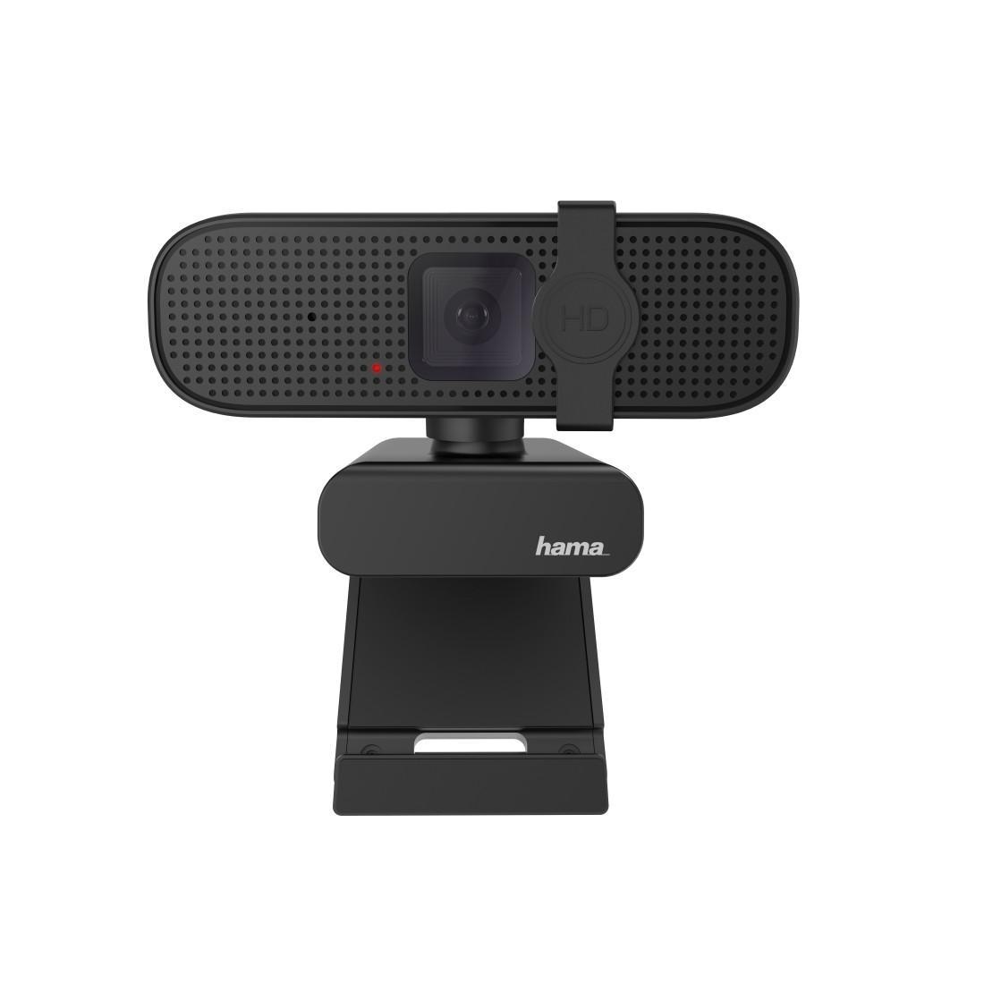 Уеб камера HAMA C-400, full-HD, Микрофон, Черна-2