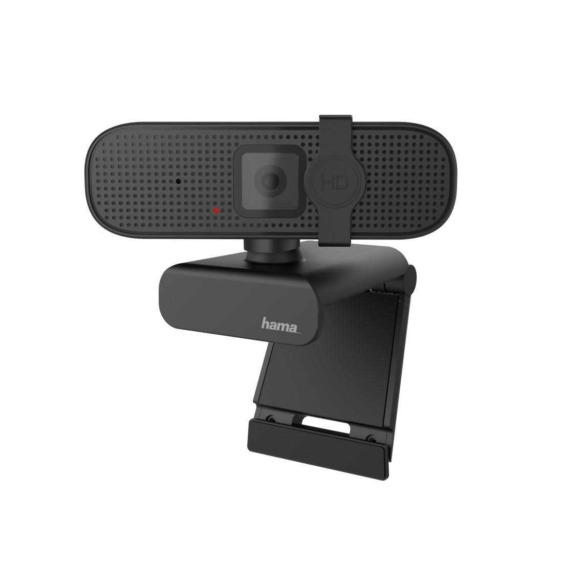 Уеб камера HAMA C-400, full-HD, Микрофон, Черна-3