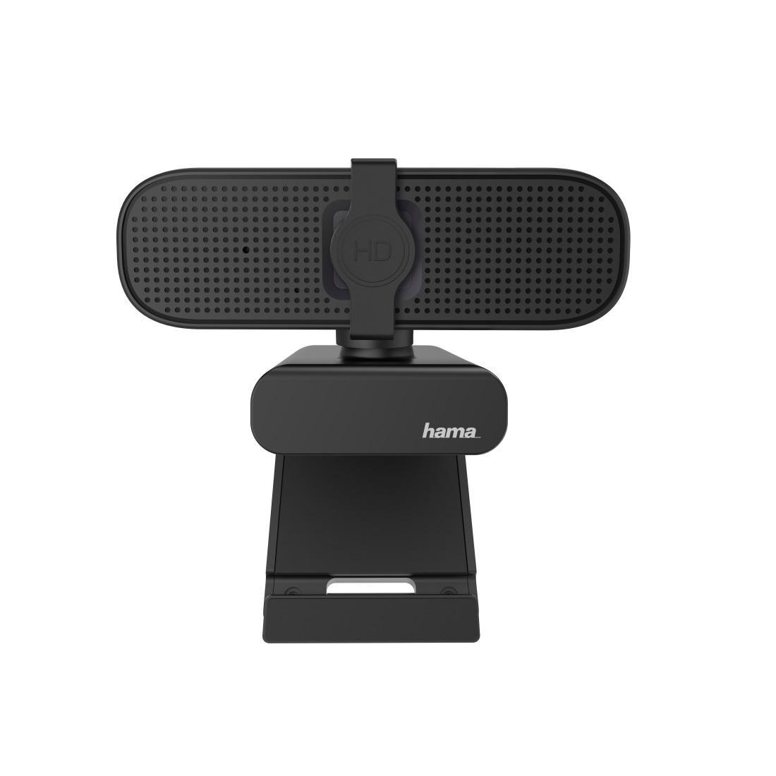 Уеб камера HAMA C-400, full-HD, Микрофон, Черна-4