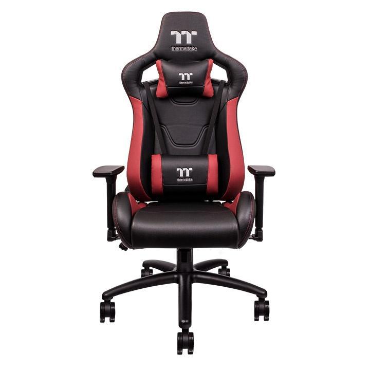 Геймърски стол TteSports U Fit, Черен/Червен