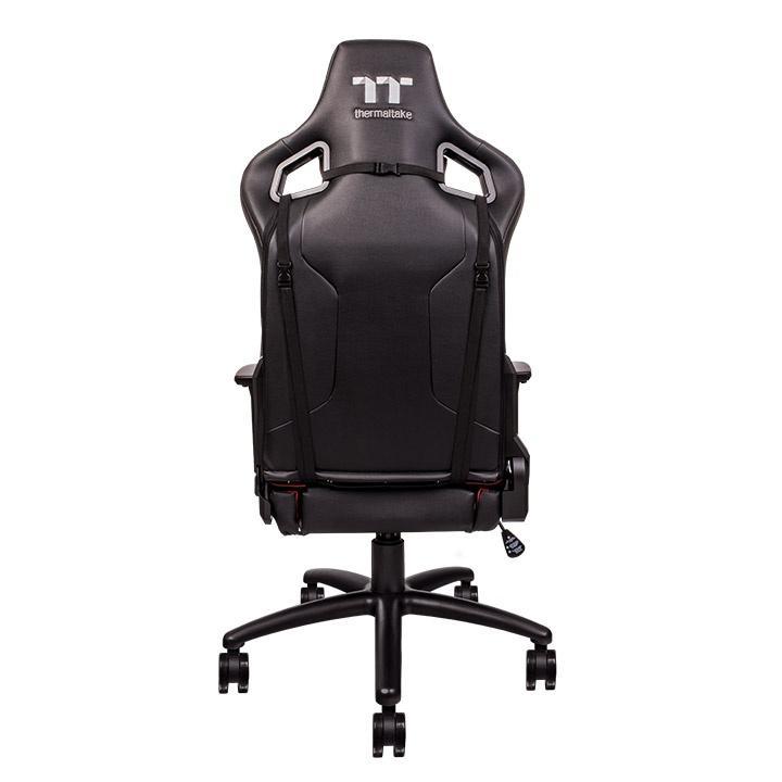 Геймърски стол TteSports U Fit, Черен/Червен-2