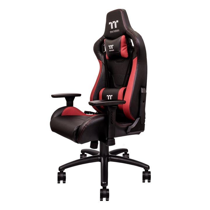 Геймърски стол TteSports U Fit, Черен/Червен-4