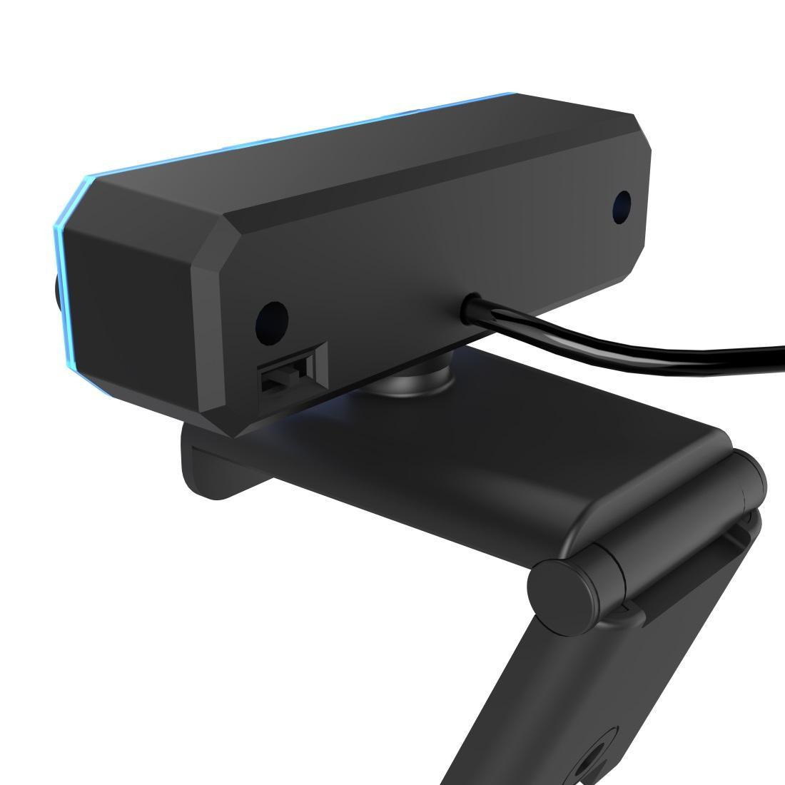 Уеб камера HAMA uRage REC 600 HD, HD, стриминг, микрофон, Черна-2