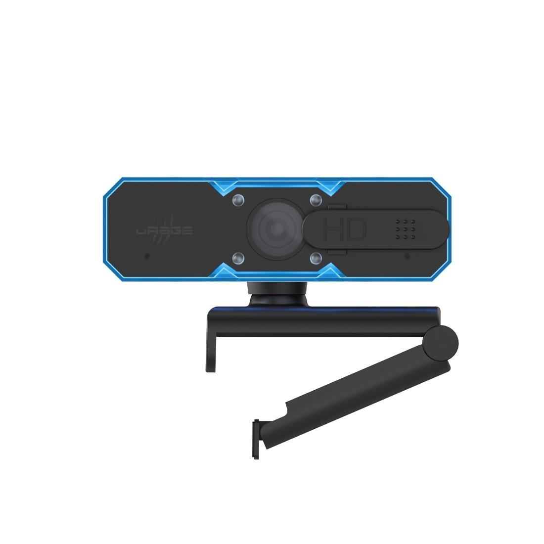 Уеб камера HAMA uRage REC 600 HD, HD, стриминг, микрофон, Черна-3
