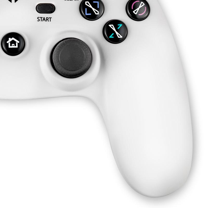 Жичен геймпад Spartan Gear Oplon, Бял-3