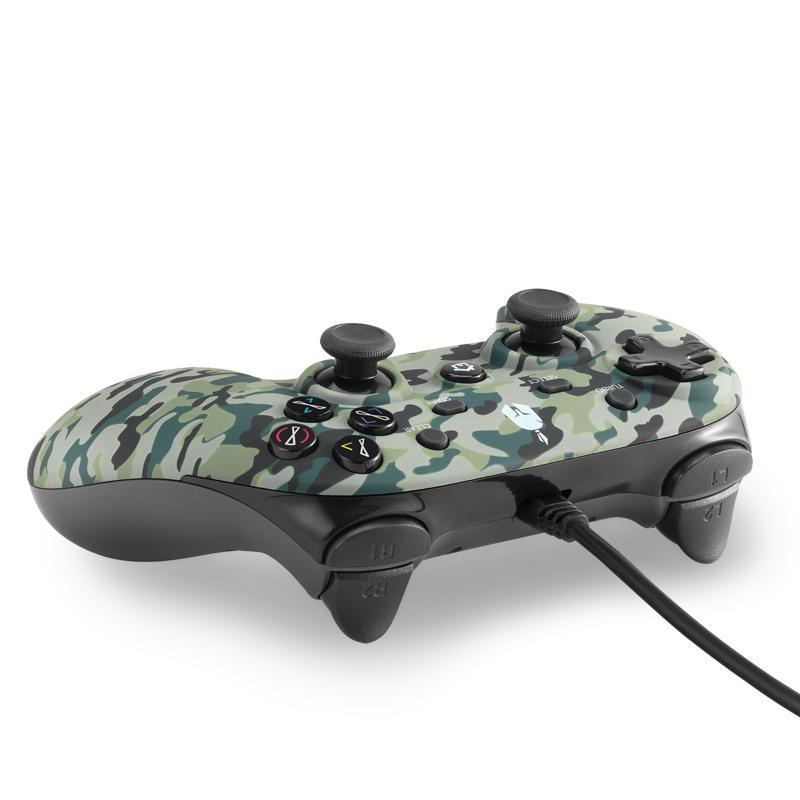 Жичен геймпад Spartan Gear Oplon, Green Camo-2