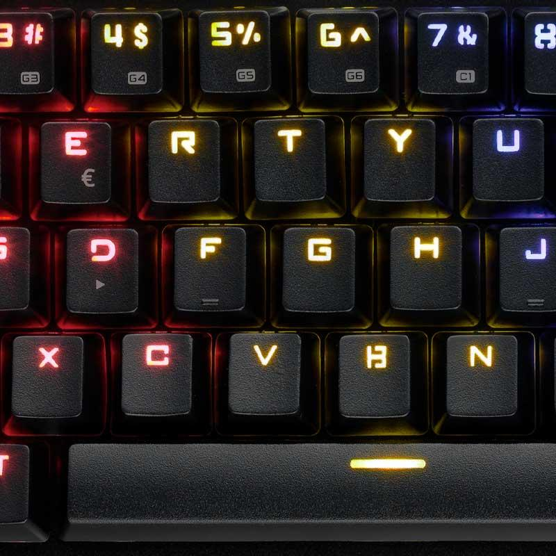 Механична Геймърскa клавиатура Spartan Gear Cyclops 2, Outemu-3