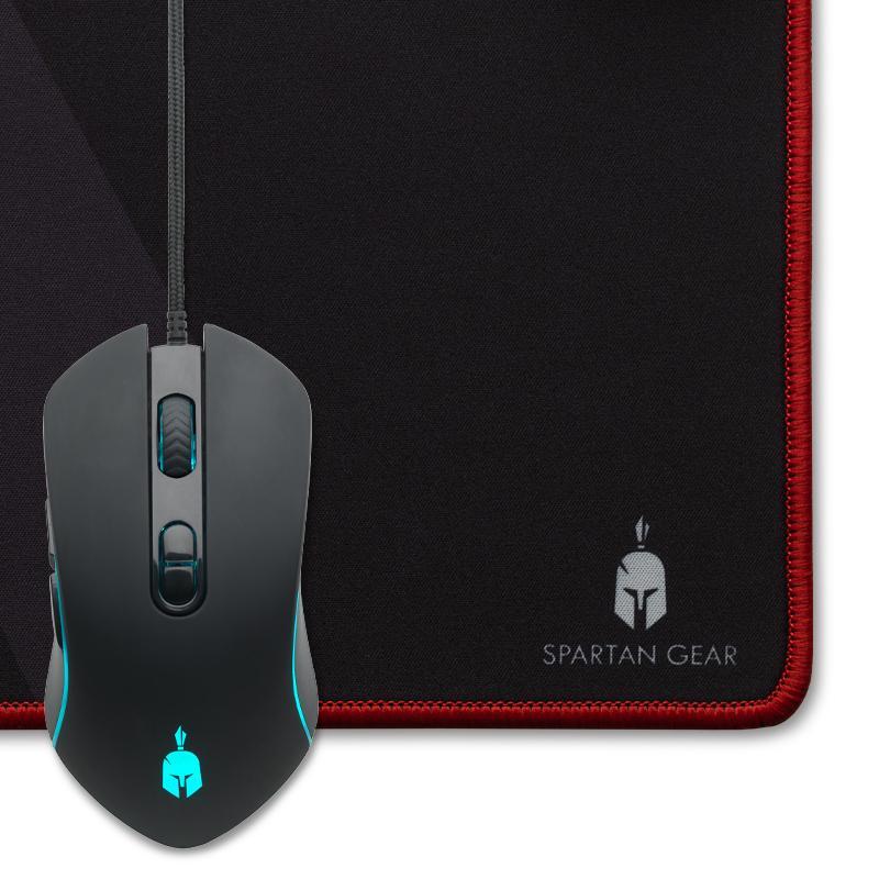 Геймърски комплект Spartan Gear Hydra II - клавиатура, мишка, пад и слушалки-3