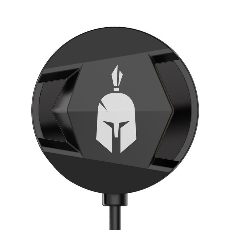 Геймърски слушалки тапи с микрофон Spartan Gear Agoge, Черен-3